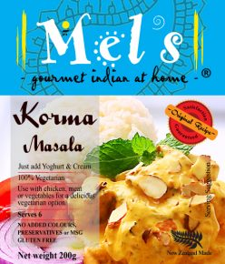 big200g KORMA FRONT LABEL