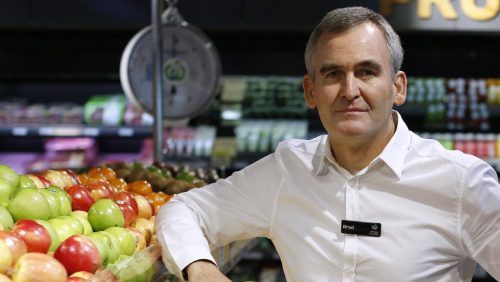 Brad Banducci, CEO of Woolworths Limited