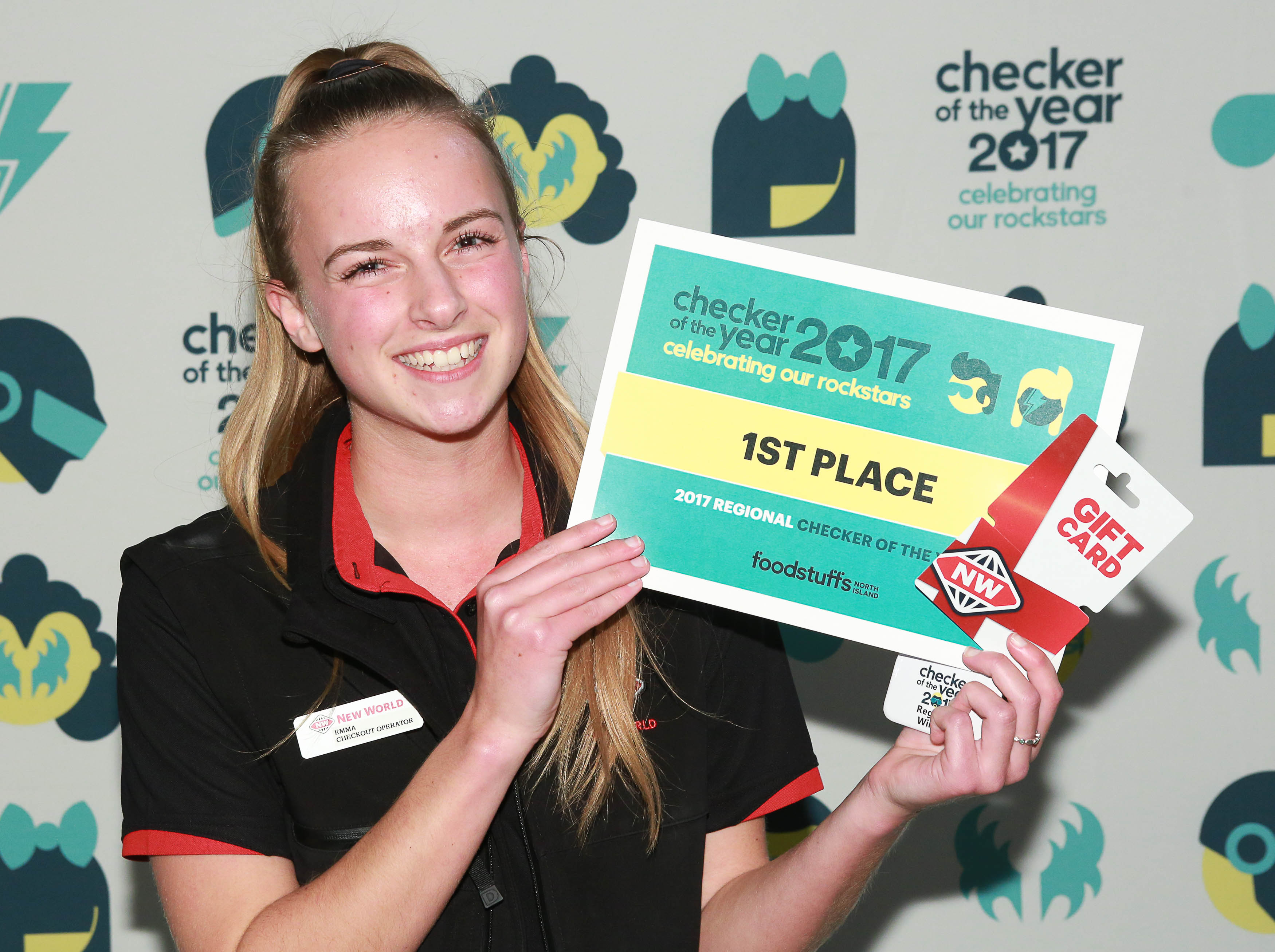 Auckland South First Place: Emma Cleary