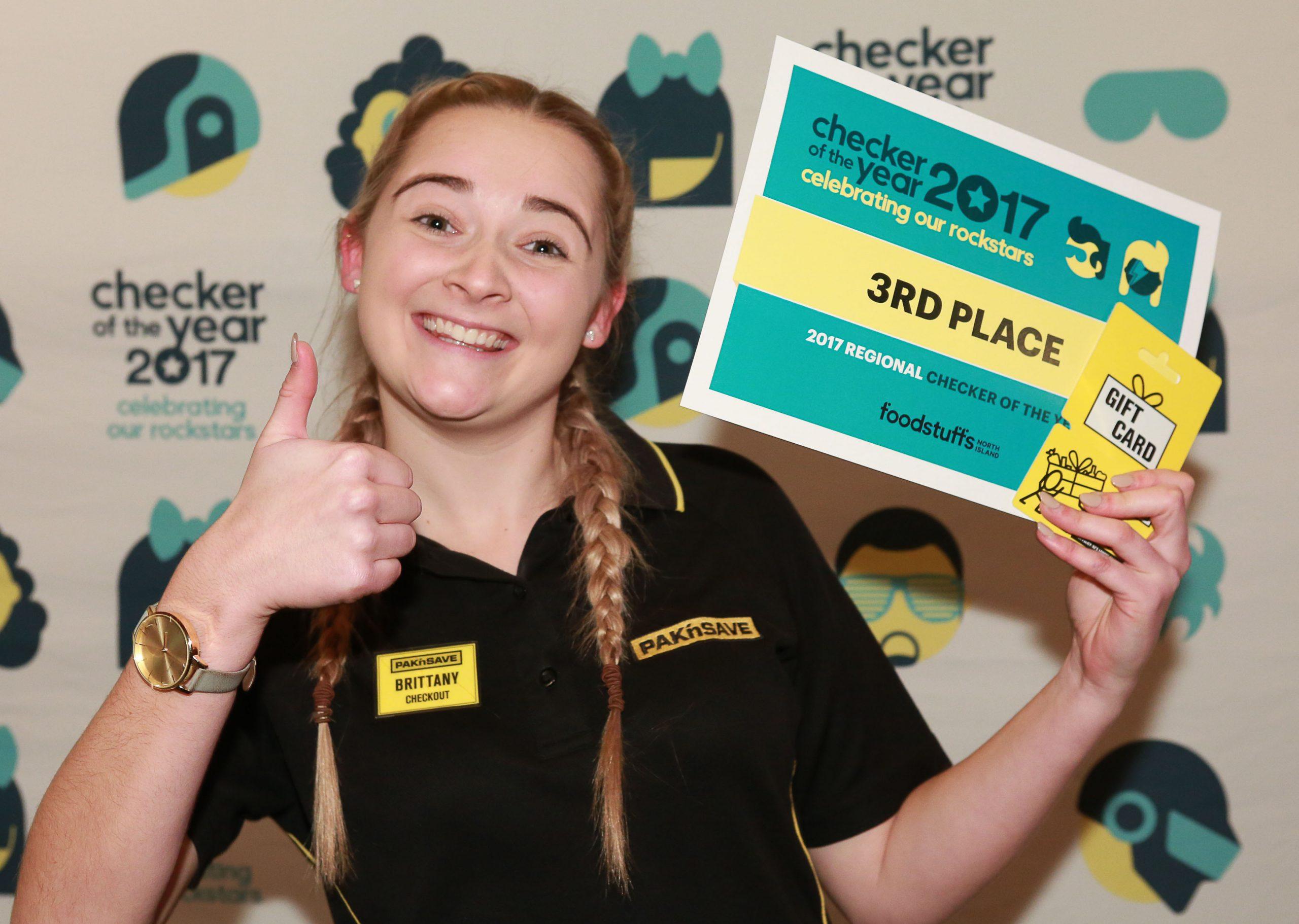 Third Place: Brittany Glavish.