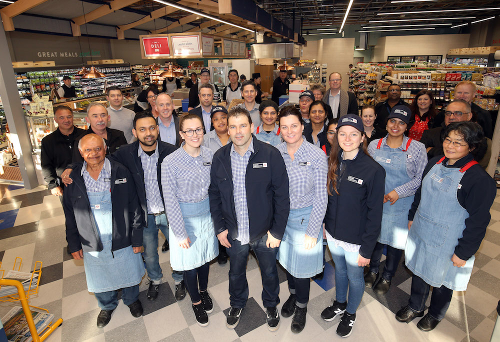 22.08.2017 Opening day at New World Fresh Collective in Mt Albert, Auckland. Mandatory Photo Credit ©Michael Bradley.