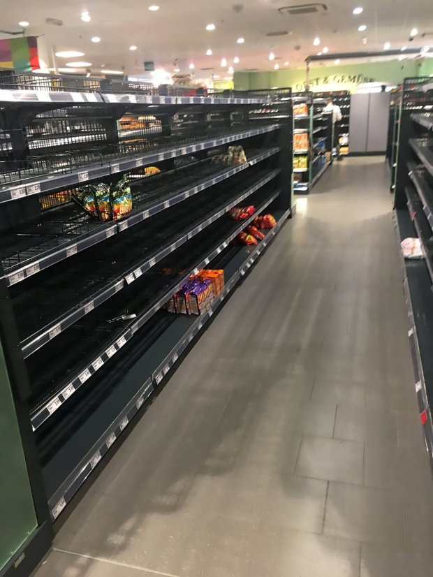 Anti-Racist Supermarket Takes Foreign Goods Off Shelves