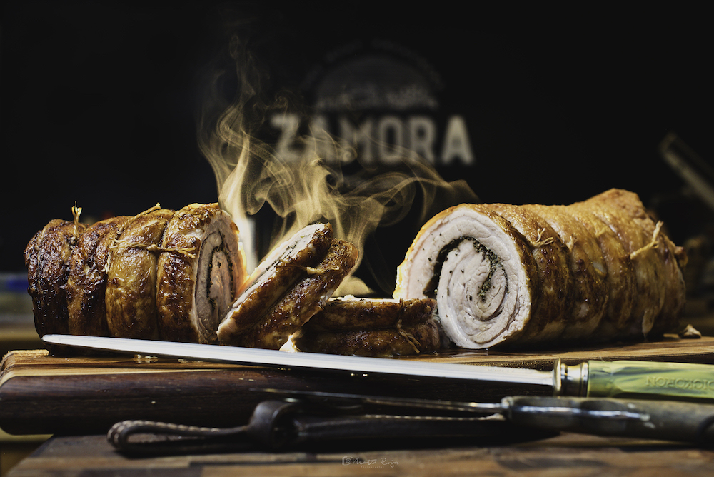 Zamora's award-winning Smoke Porchetta