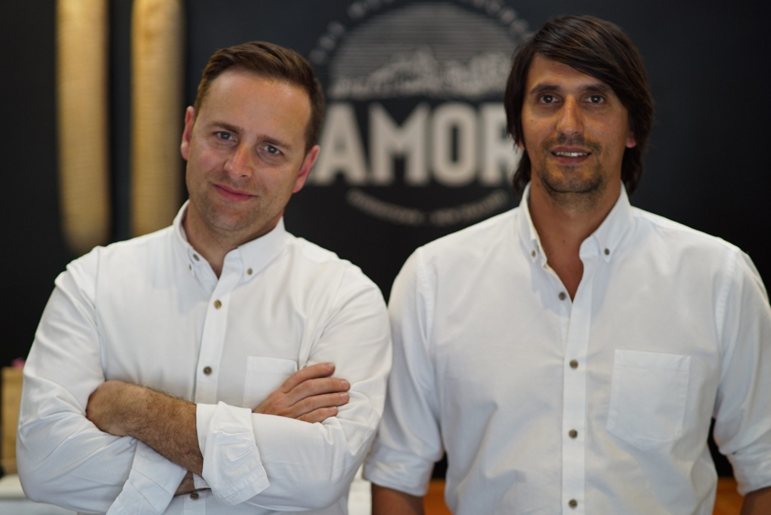 Zamora's directors Nicolas Karlsson (L) and Matias Mautone (R)