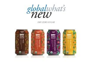 Dry Zero Sugar product lineup