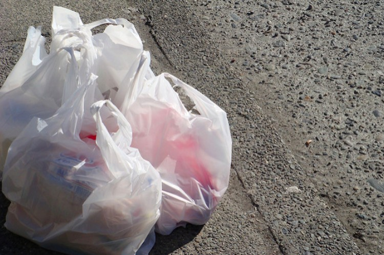 Picture of plastic bags