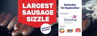 Sausage Sizzle Poster