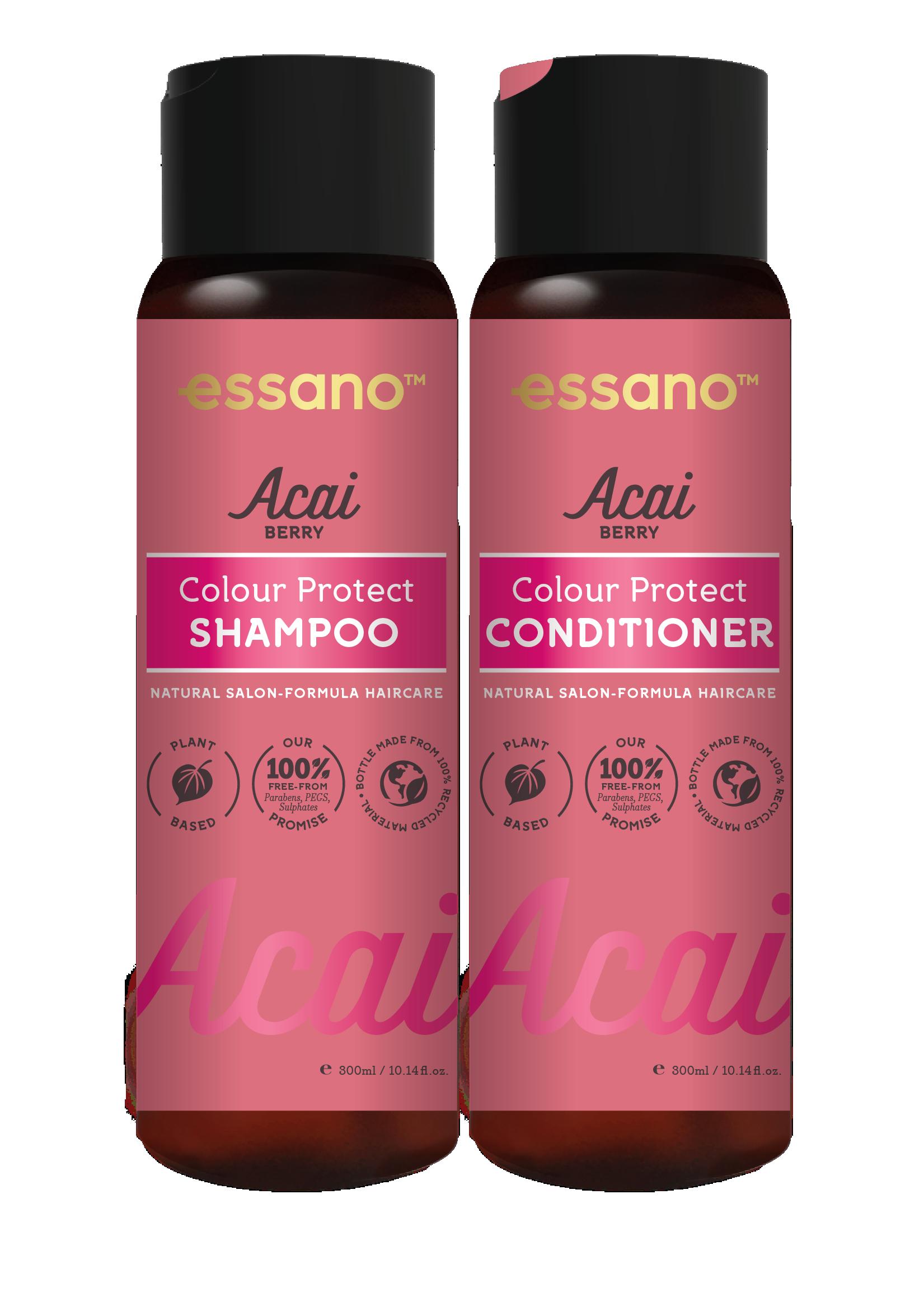 Essano Acai Berry Colour Protect Shampoo and Conditioner duo