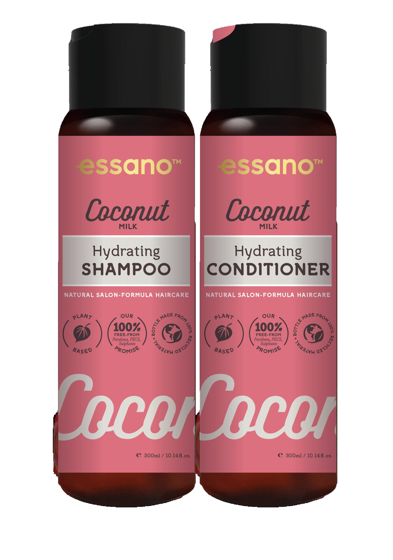 Essano Coconut Hydrating Shampoo and Conditioner duo