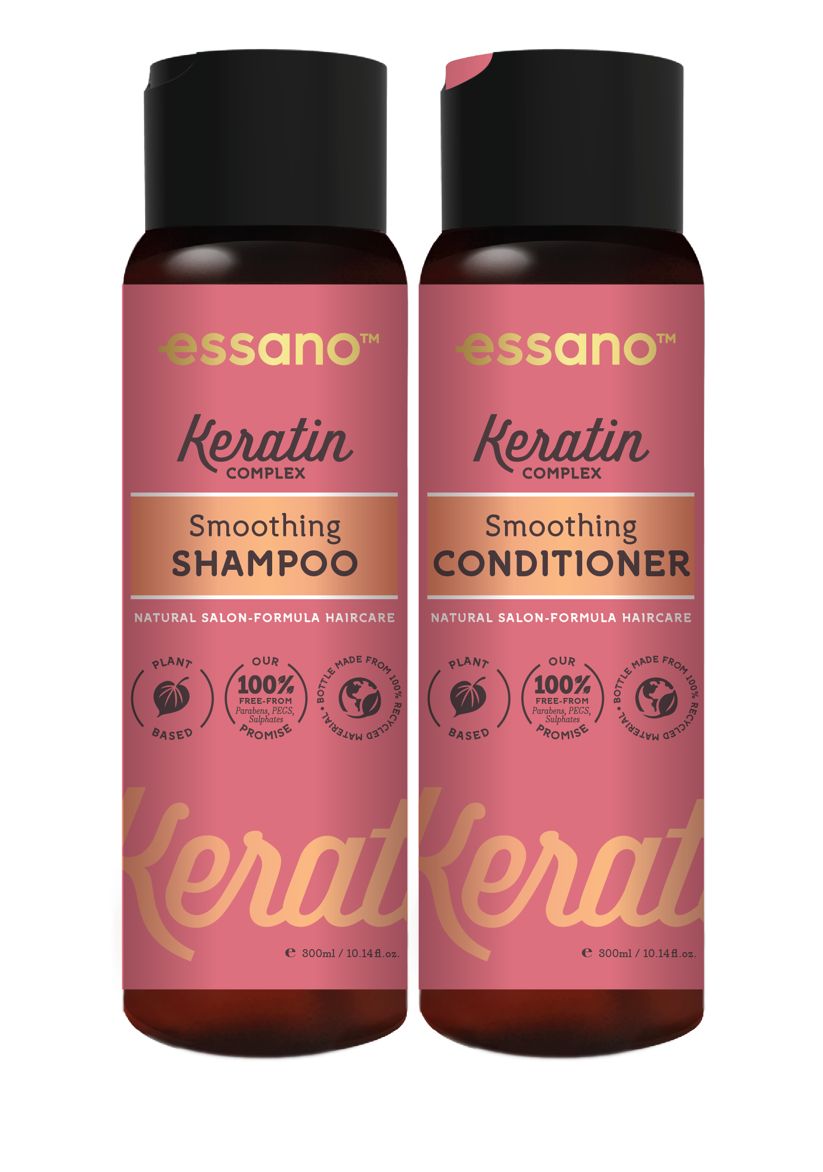Essano Keratin Complex Smoothing Shampoo and Conditioner duo