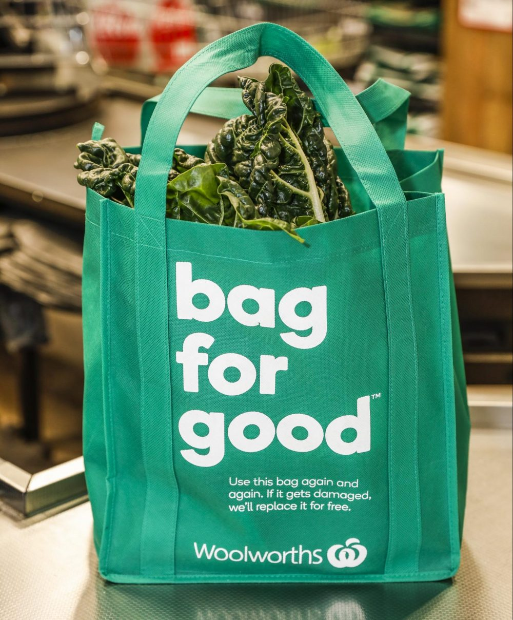 WOOLWORTHS SUPPORT NATIONAL PACKAGING TARGETS