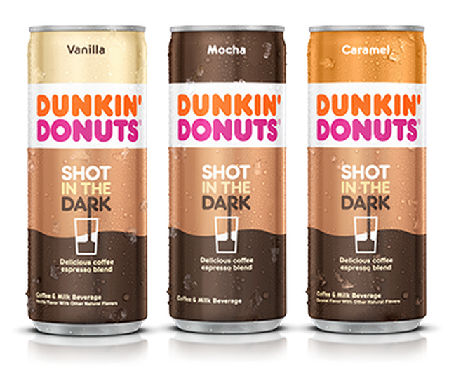 DUNKIN DONUTS COFFEE IN A CAN
