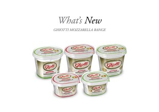SMOOTH AND CREAMY - Ghiotti mozzarella range