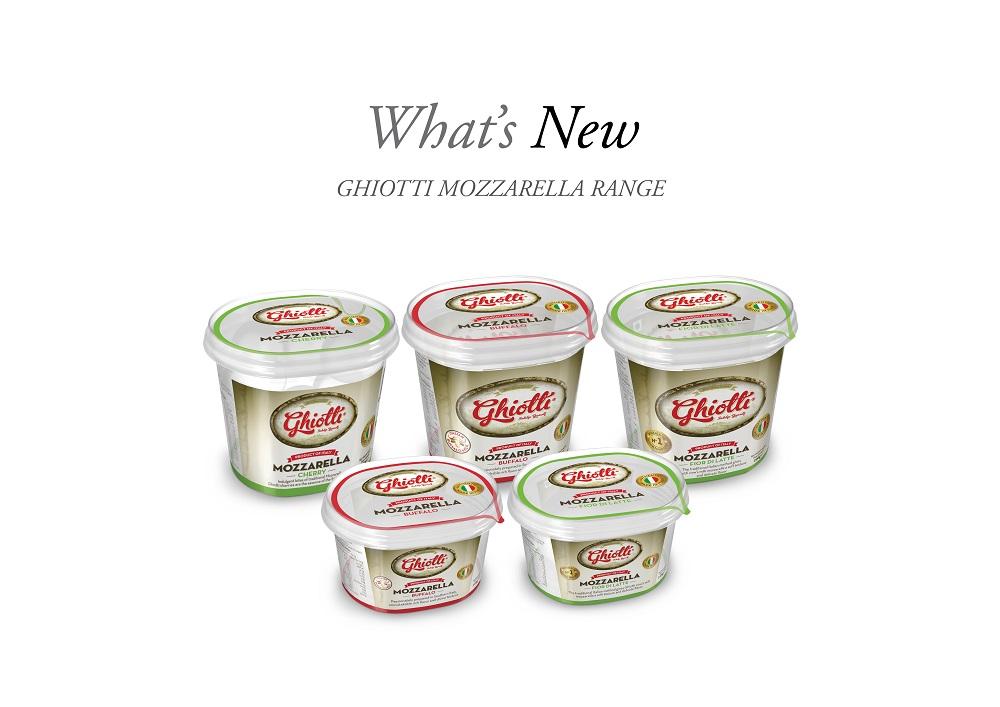 SMOOTH AND CREAMY - Ghiotti mozzarella range