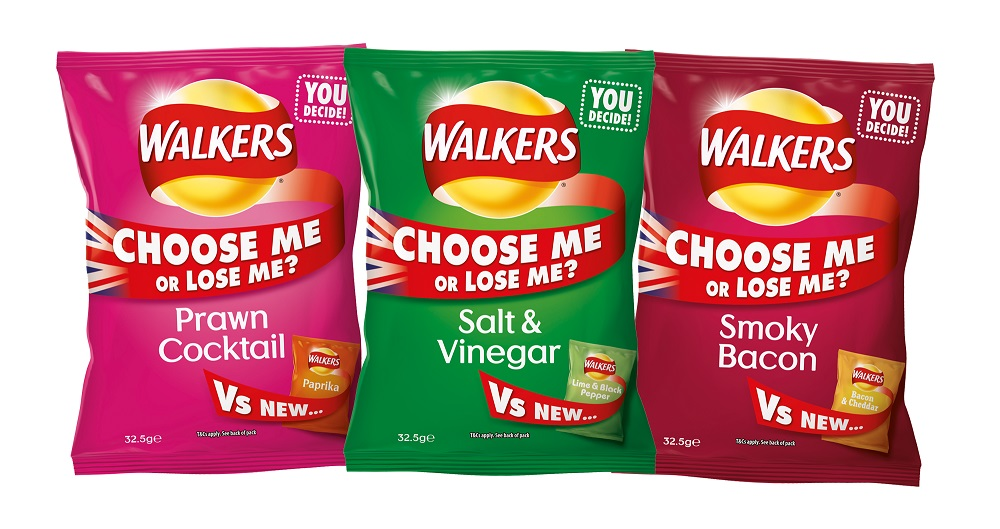 WALKERS RECYCLING CRISP BAGS