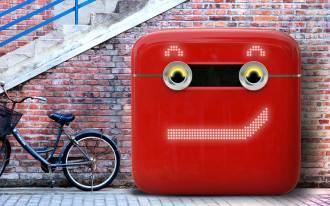 coca-cola's vencycling vending machine smirks at the camera