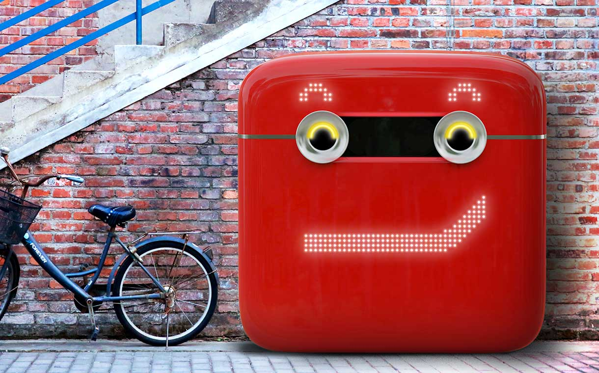 coca-cola's vencycling vending machine smirks at the camera