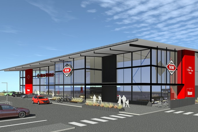 new world wanaka proposed build