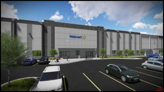 a walmart distribution centre