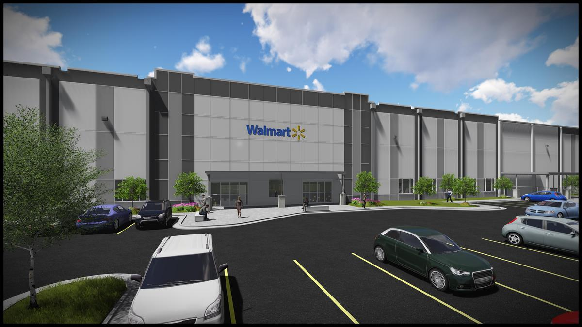 a walmart distribution centre