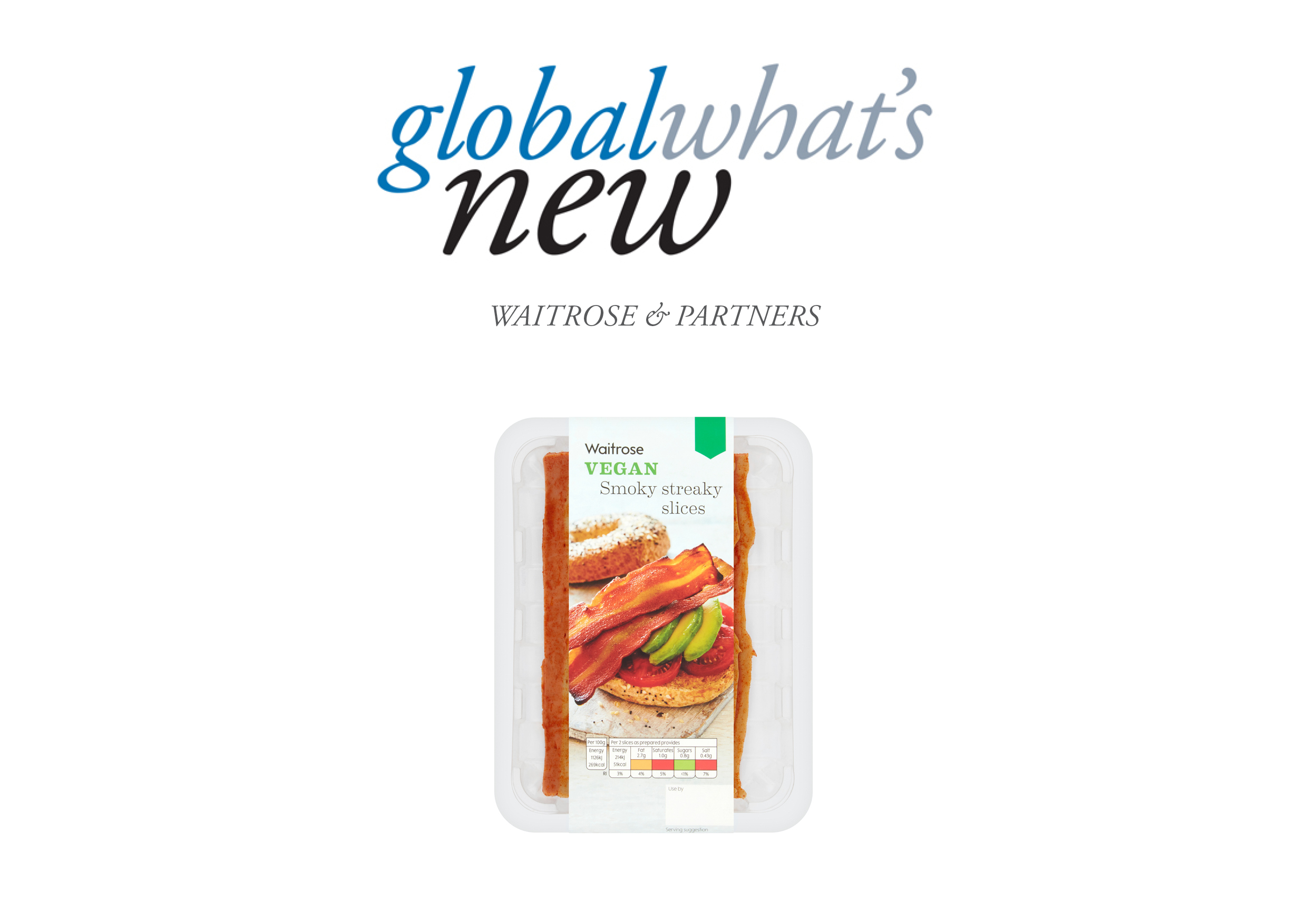 Global What's new Waitrose & Partners' facon