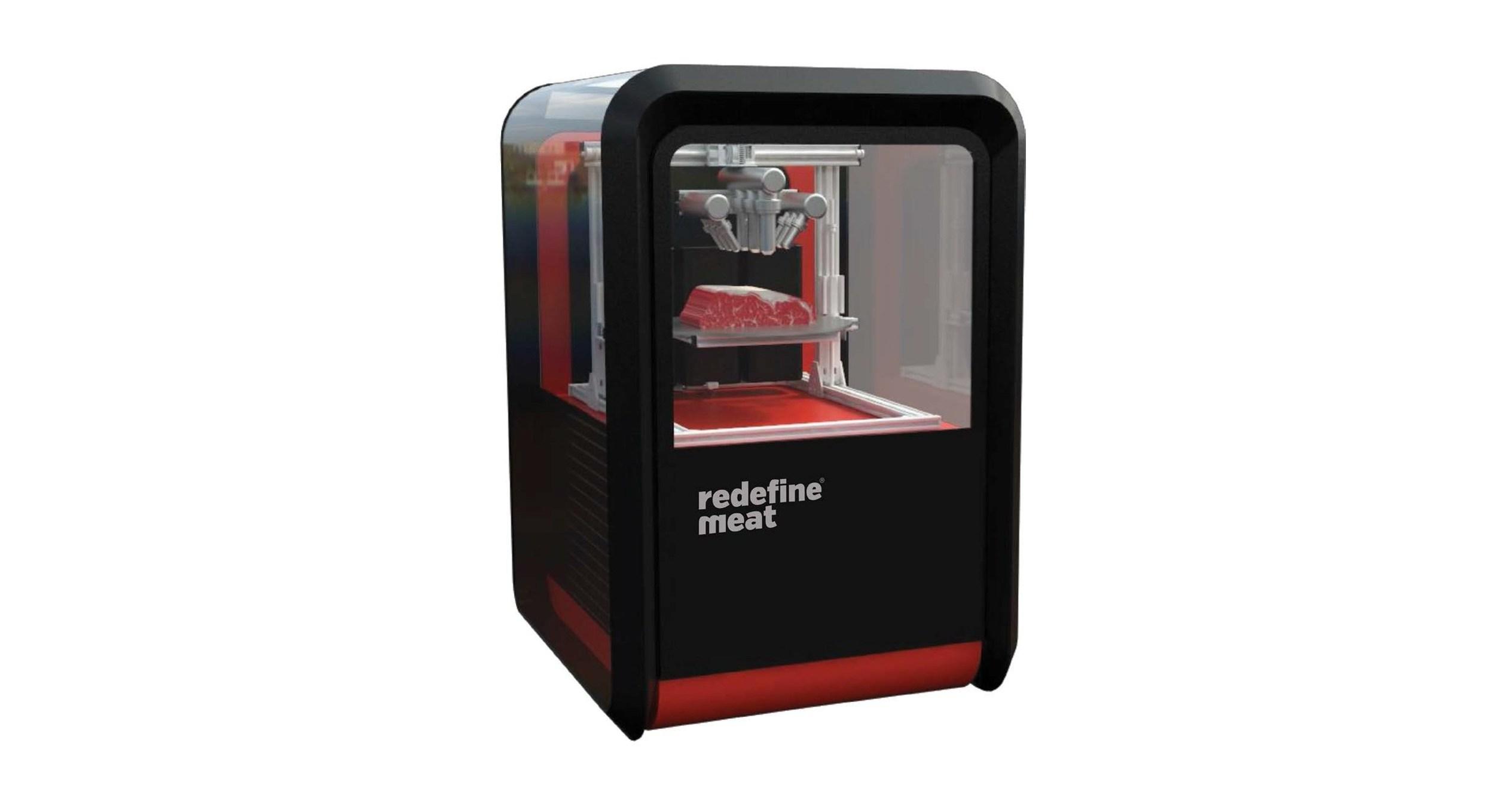 "Redefine ""meat"" printer"