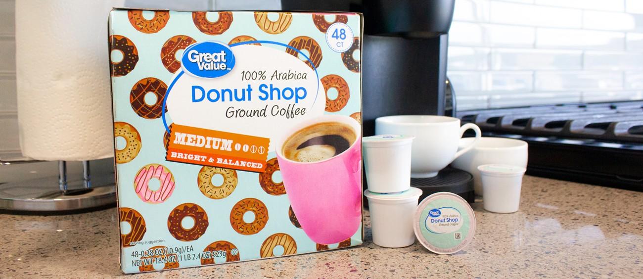 Walmart private label brand coffee