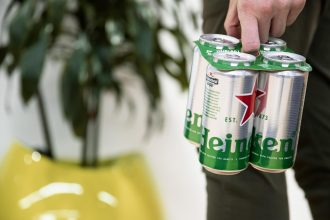 Heineken cardboard toppers
