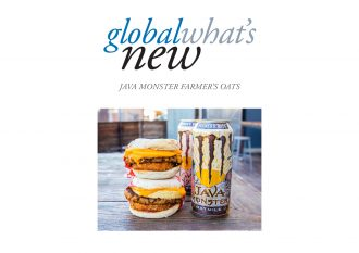 Java Monster Farmer's Oats on Global What's New template