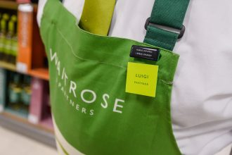 Waitrose and John Lewis language badge