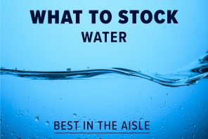 WHAT TO STOCK – WATER