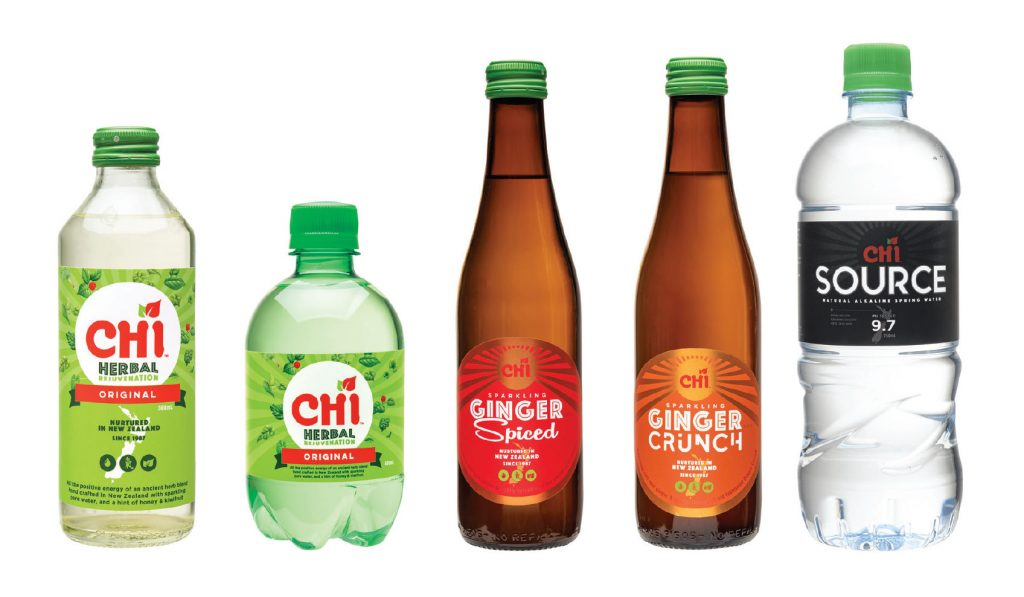Ch'i Drinks Product Range