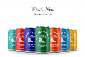 MOA Beer Shift to Cans in a Positive Sustainable Leap