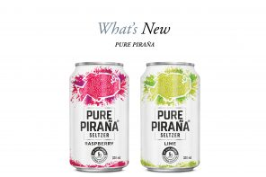 Sink Your Teeth Into New Pure Piraña Seltzers