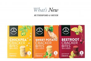 Rutherford & Meyer Launch Award-Winning, Vege-Packed Crackers