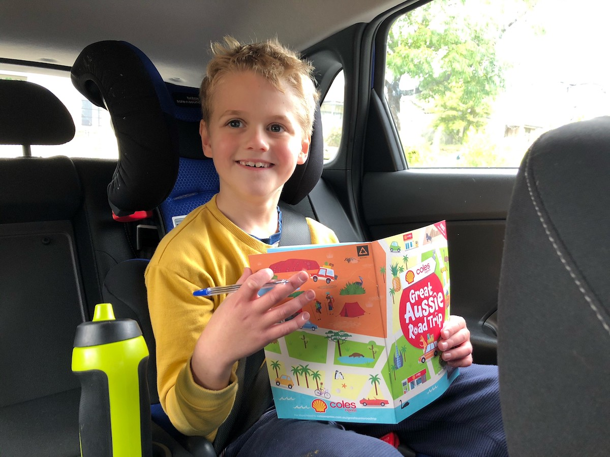 Free Kids Activity Booklet from Shell Coles Express