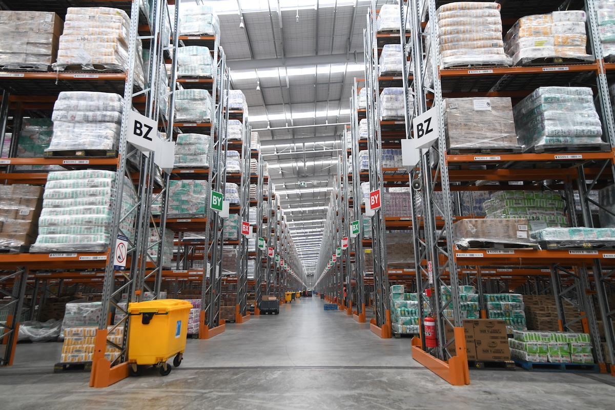 Foodstuffs Landing Drive North Distribution Centre Racking