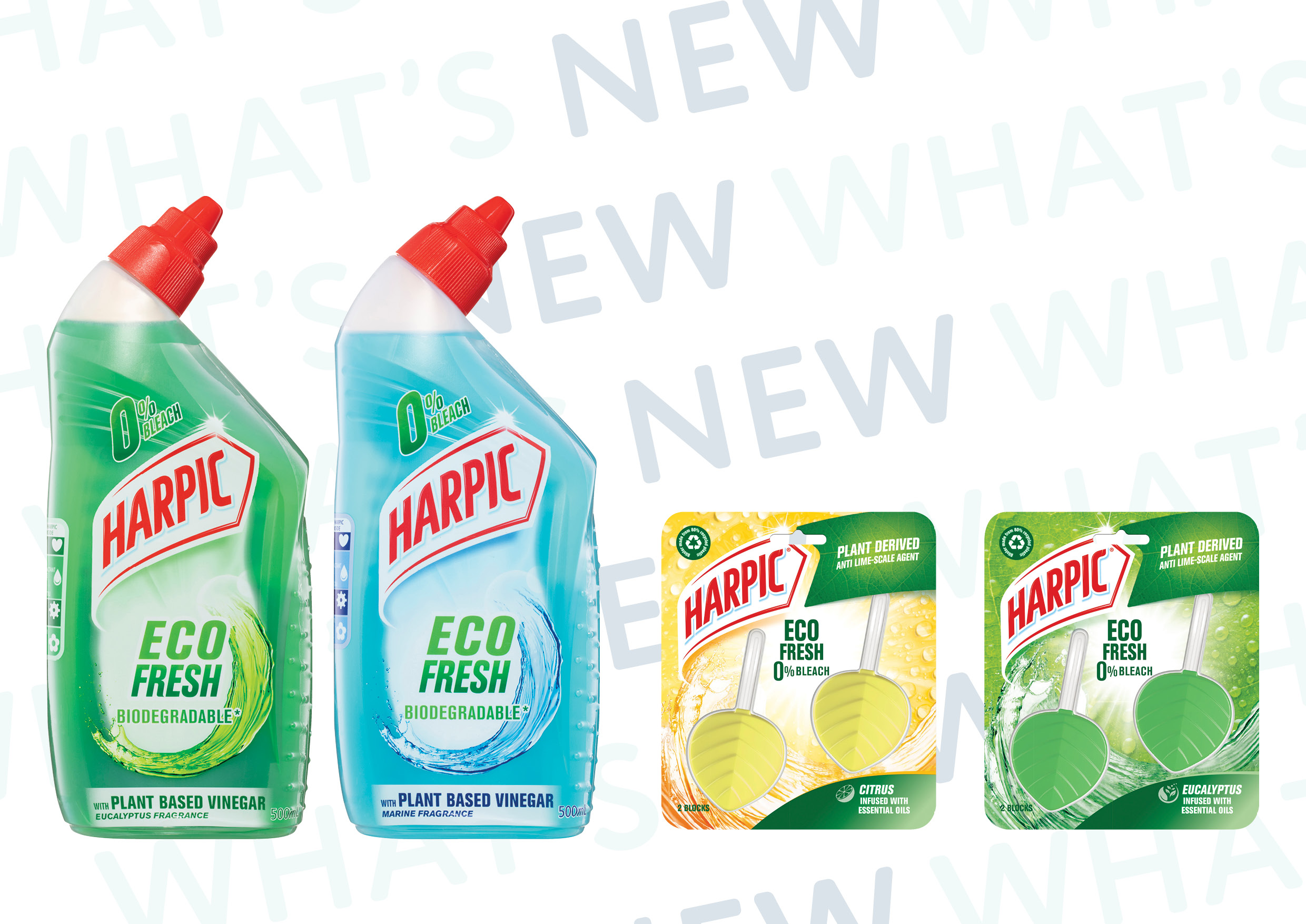 Harpic Launches Eco Fresh Range