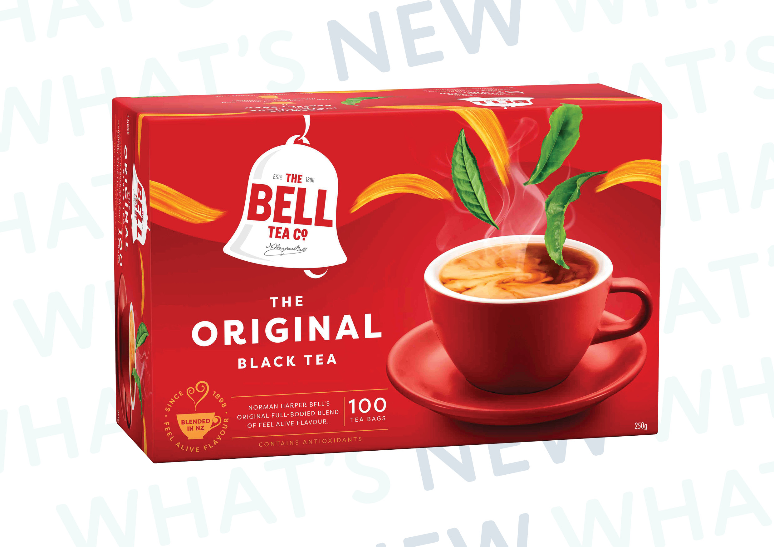 Bell Tea Introduce New Look Range