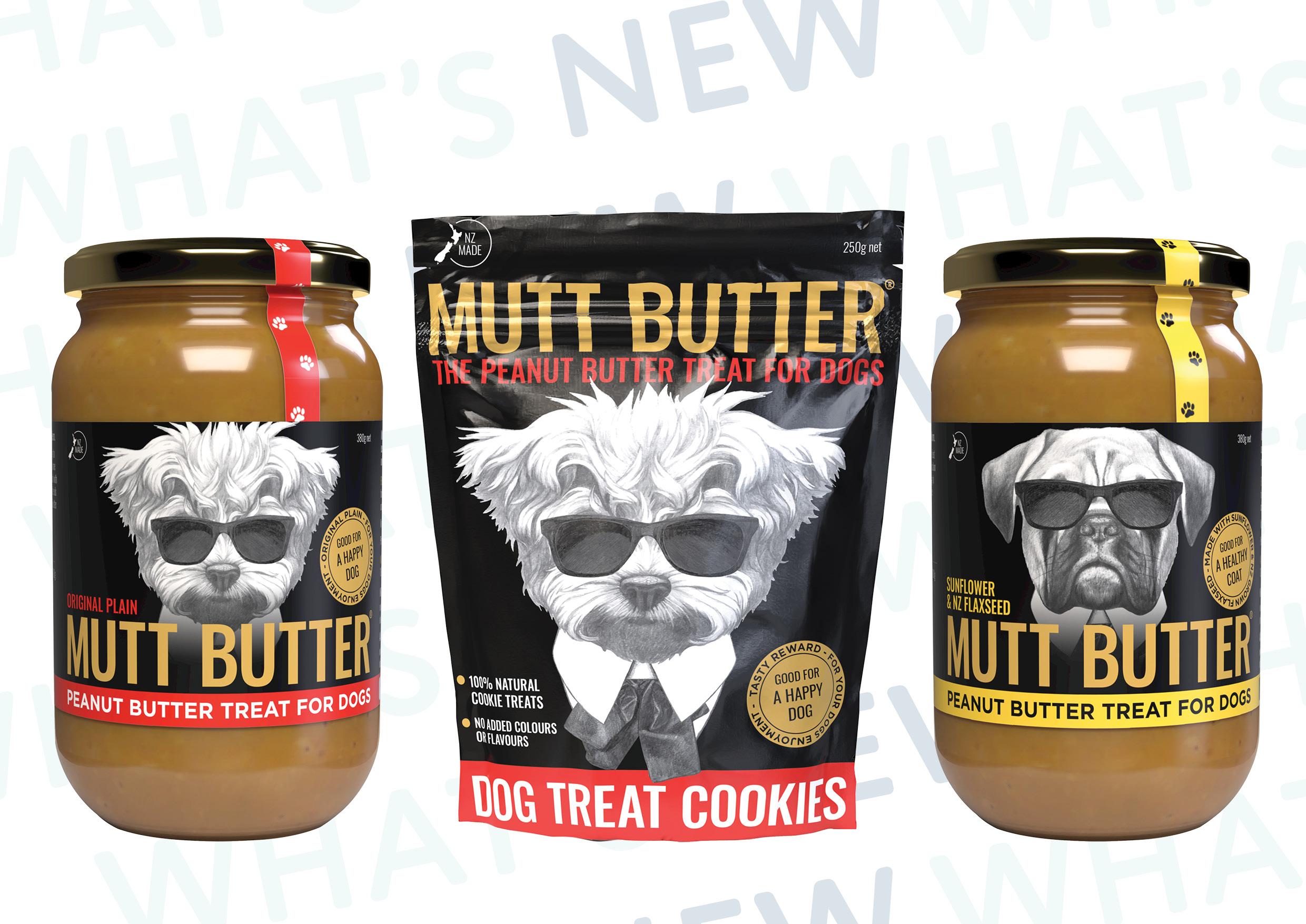 Dogs Go Nuts for Mutt Butter