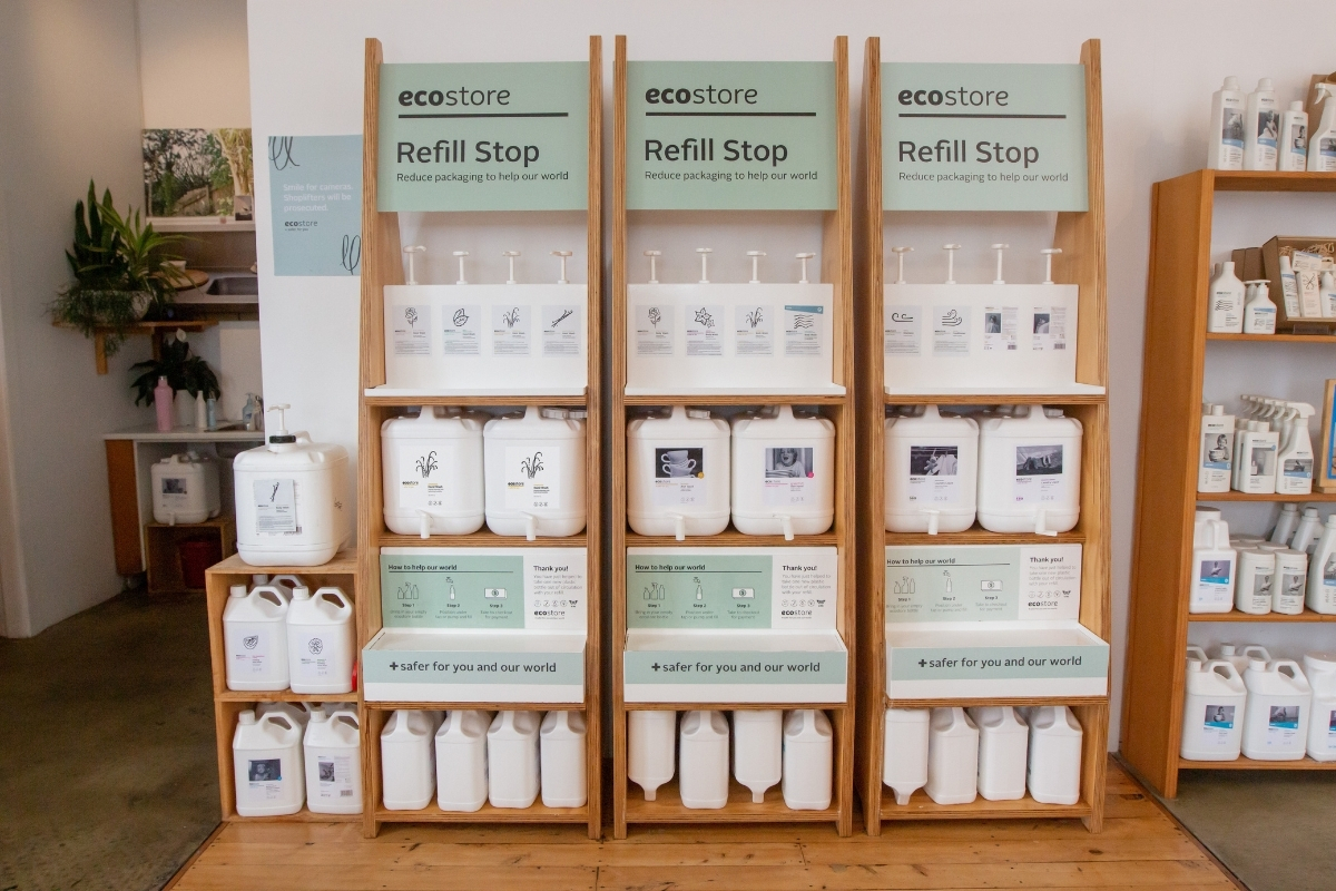 Ecostore Marks Milestone for Refill Stations