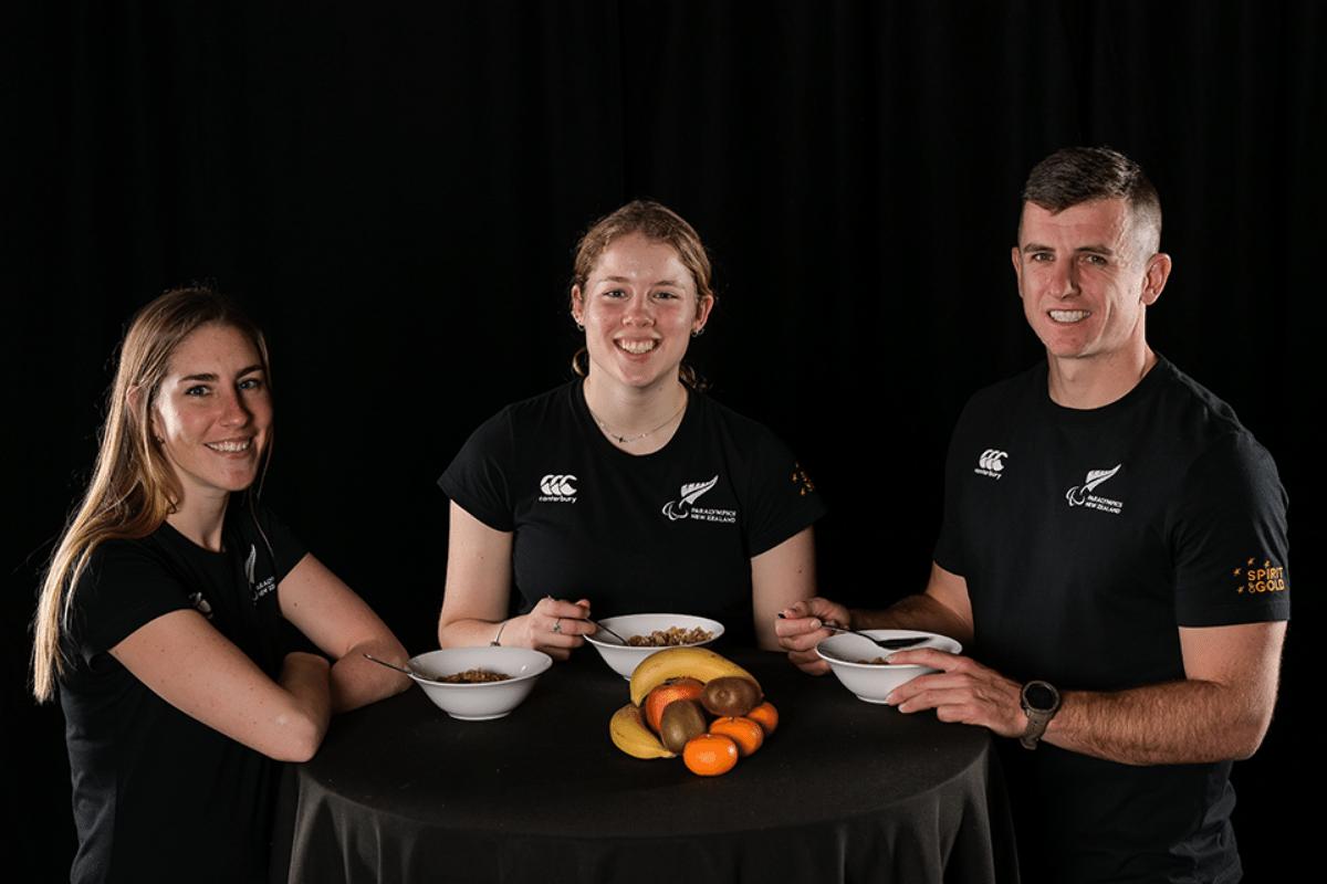 Kellogg Tag-Teams With NZ Paralympics